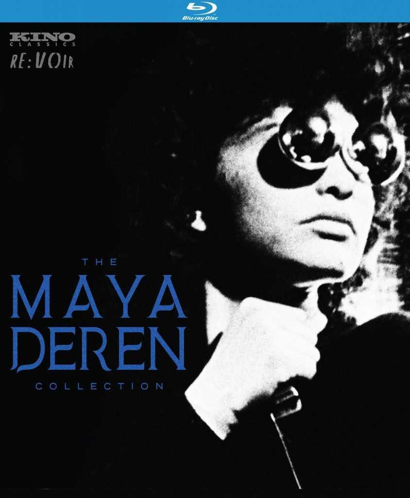Maya Deren Collection Blu-ray Cover